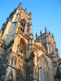 英国大教堂约克 免版税图库摄影