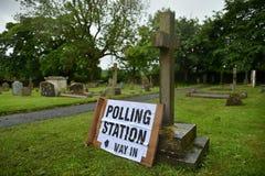 英国大选 免版税库存图片