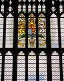 英国女王伊丽莎白二世第60或第75周年纪念窗口 库存图片