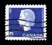 英国女王伊丽莎白二世,麦子捆, Definitives serie,大约1962年 免版税库存照片