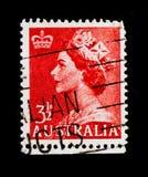 英国女王伊丽莎白二世, serie,大约1956年 库存图片