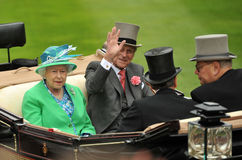 英国女王/王后 免版税库存图片