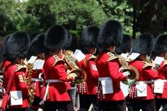 英国守卫皇家 库存照片