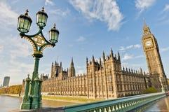 英国安置伦敦议会 免版税库存照片