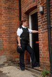 英国官员警察 免版税图库摄影