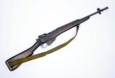 英国密林马枪李没有的埃菲尔德 5步枪 免版税库存照片