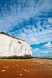英国峭壁 免版税库存图片