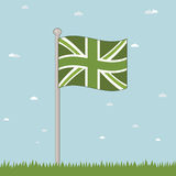 英国巨大绿色 库存图片