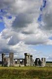 英国巨石纪念碑stonehenge 库存图片