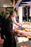 英国市场,一个市政食物市场在黄柏,城市的著名旅游胜地的中心 免版税库存图片