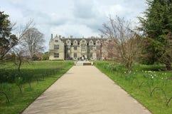 英国庄园住宅, Wakehurst地方 库存图片