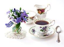 英国庭院茶 免版税库存图片