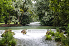 英国庭院-慕尼黑 免版税库存图片