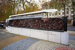 英国战争纪念品,伦敦英国 图库摄影