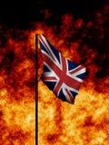 英国战时 免版税图库摄影