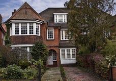 英国房子 库存图片