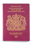 英国护照 免版税库存照片