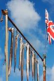英国捕鱼业 库存照片