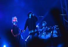 英国摇滚乐音乐会 免版税库存图片