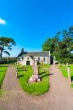 英国教会和公墓 免版税库存照片