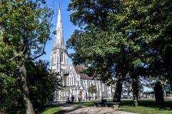 英国教会在丹麦 图库摄影