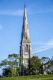英国教会在丹麦 免版税库存照片