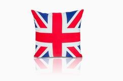 英国旗子枕头 库存照片