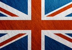 英国旗子葡萄酒,减速火箭,被抓, 库存图片