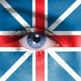英国旗子 免版税图库摄影