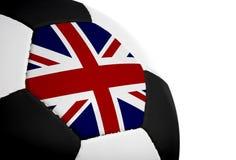 英国旗标橄榄球 库存图片