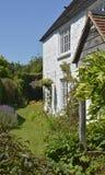 英国村庄庭院,苏克塞斯,英国 免版税图库摄影