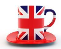 英国杯子 免版税库存图片