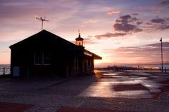 英国极大的灯塔 免版税库存照片