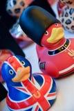 英国橡胶鸭子 免版税库存图片
