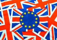 英国欧盟公民投票 免版税库存照片
