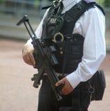 英国武装警察伦敦英国 图库摄影