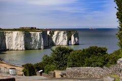 英国海岸 免版税库存图片
