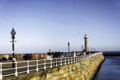 英国海边城镇 免版税库存图片