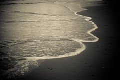 英国海边 免版税图库摄影