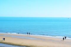 英国海边 库存图片