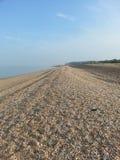 英国海滩 库存照片