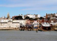 英国港口 库存照片