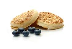 英国烤饼II (Pikelet) 免版税图库摄影
