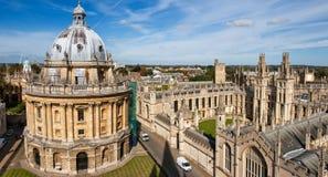 英国牛津 免版税库存图片