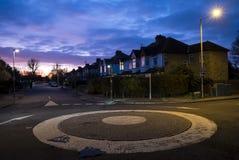 英国环形交通枢纽 图库摄影