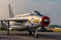 英国电闪电F 6 库存照片