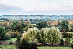 英国的乡下和领域 免版税库存图片