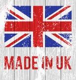 英国的传染媒介旗子 免版税图库摄影