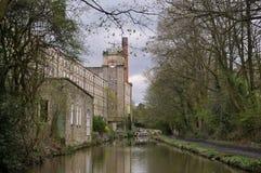 英国的工业遗产 库存图片