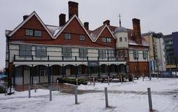 英国的建筑表示老 库存照片